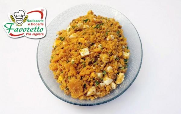 Farofa milho