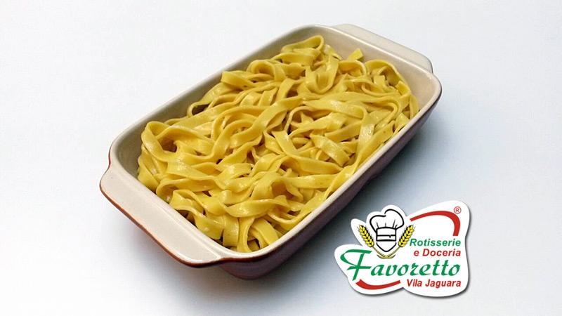 Talharim cozido
