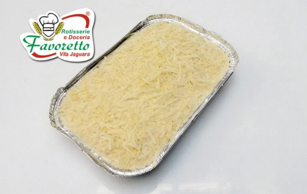 Lazanha 4 queijos