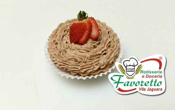 Tortinha de Chocolate