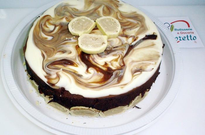 Torta Bombom Marmorizada