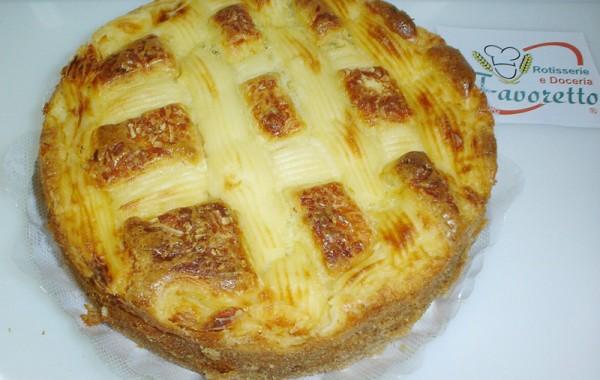 Torta Carne Moida com Catupiry