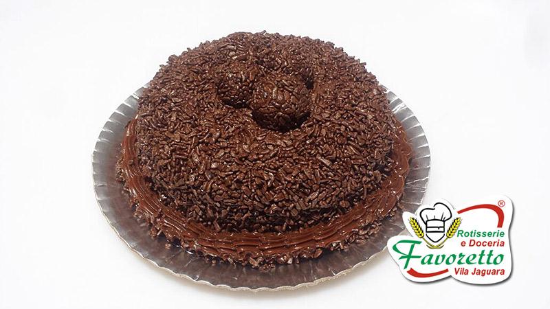Brigadeiro com Flocos Chocolate